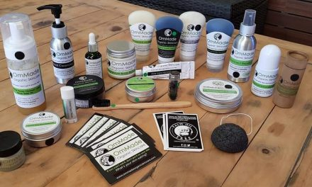 """OmMade Organic Skincare: """"If you can't eat it, don't put it on your skin!"""""""
