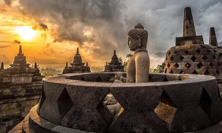 The Great Tantric Stupa of Borobudur