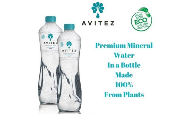 AVITEZ: Asia's first PLA (Plant-Made Plastic) bottled Water!