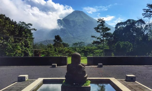 The 9 sacred mountains of Java
